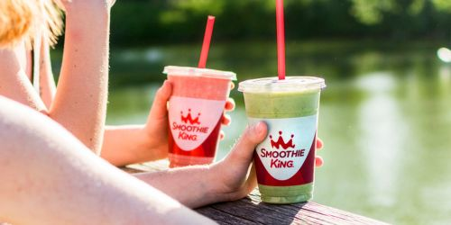 Smoothie King 32oz Smoothie Only $5 Each Friday