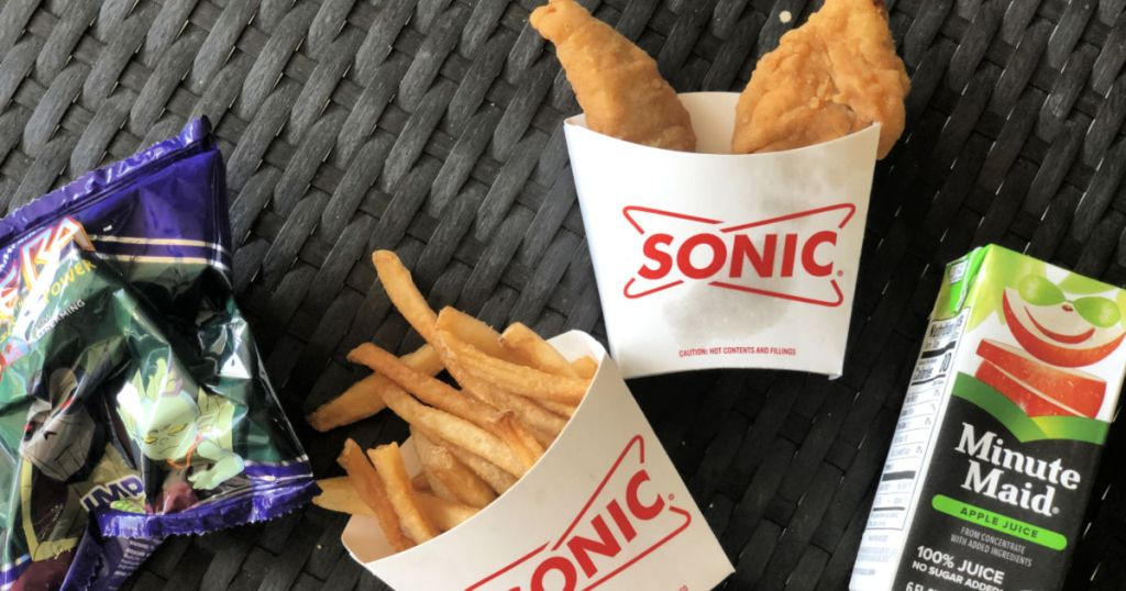 sonic wacky pack chicken tender meal