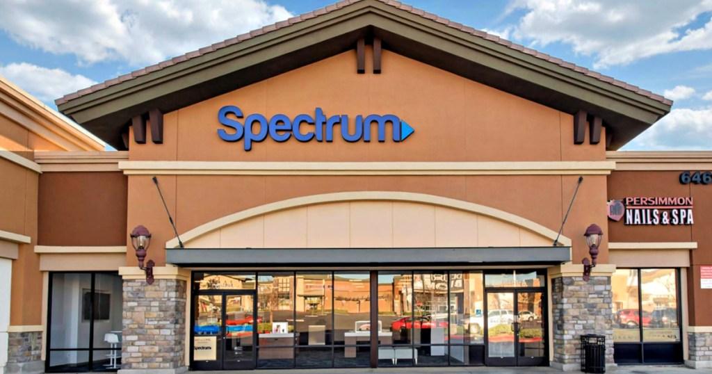 Spectrum store front