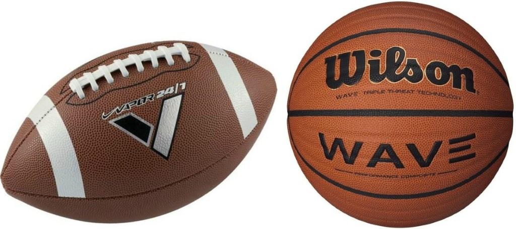 Nike Football Wilson Basketball