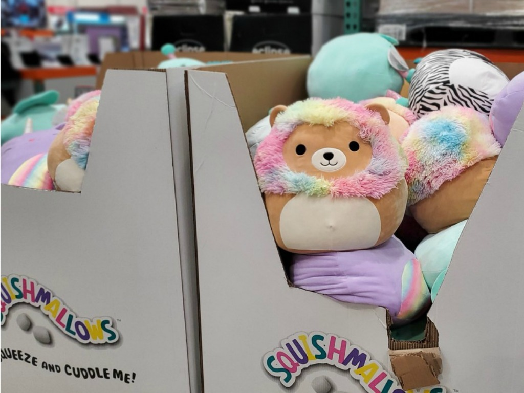 Squishmallows at Costco