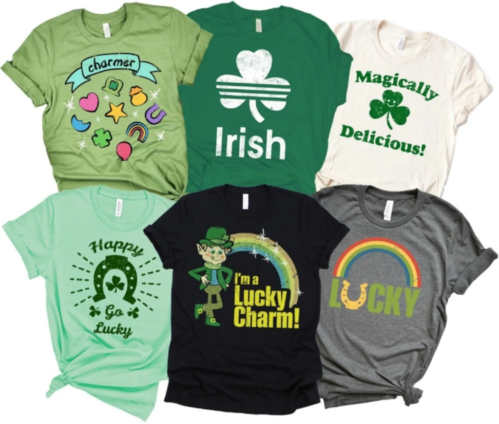 St. Patrick's Day tees