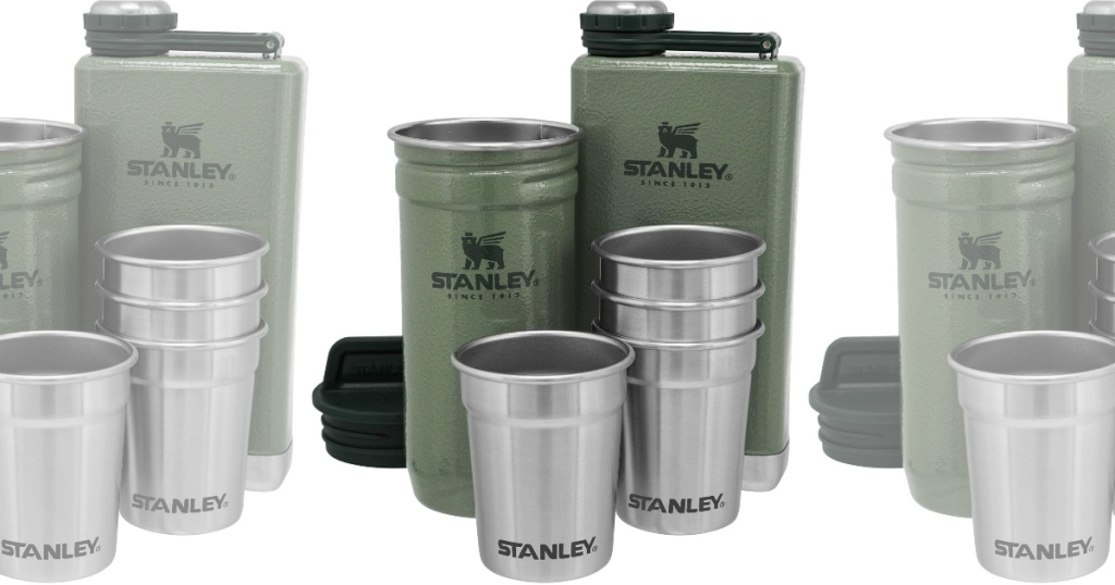 Stanley Flask and Shot Glasses