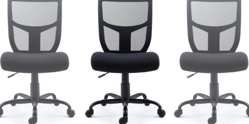 Mesh Back Office Chair Only $45 Shipped on Staples