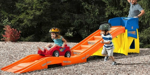 Save $110 on Step2 Hot Wheels Extreme Thrill Roller Coaster + Earn $40 Kohl's Cash