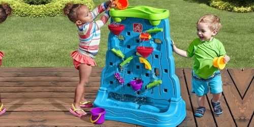 Step2 Waterfall Discovery Wall Only $29.98 Shipped   Awesome Reviews
