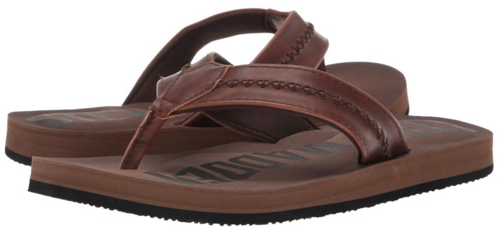 men's brown sandals
