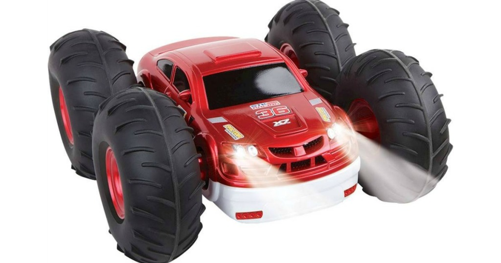 Flip Stunt Rally Car in red