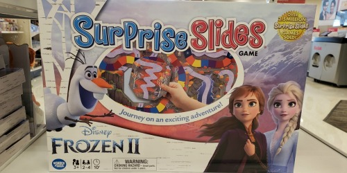 Disney Frozen Surprise Slides Game Only $4.99 on Target.com + 50% Off More Games