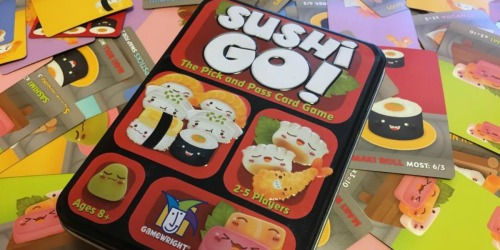 Sushi Go! Card Game Only $6.74 on Amazon | Awesome Reviews