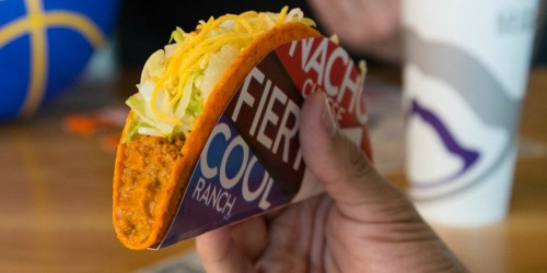 FREE Taco Bell Doritos Locos Taco for Rewards Members (Available for Everyone Tomorrow!)
