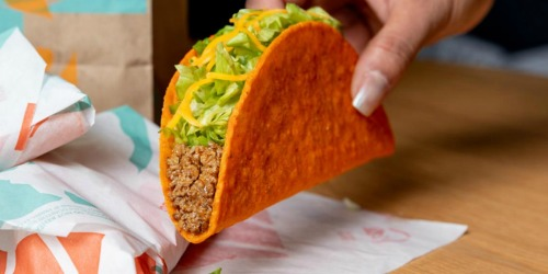 FREE Taco Bell Doritos Loco Taco | Today Only