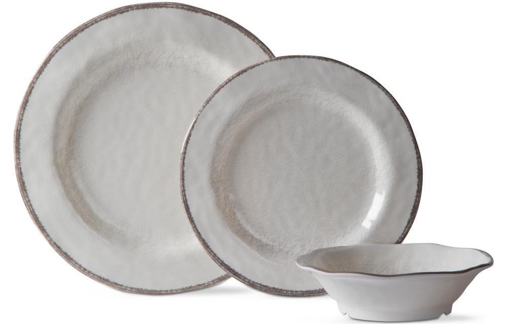 Tag White Dinnerware Set