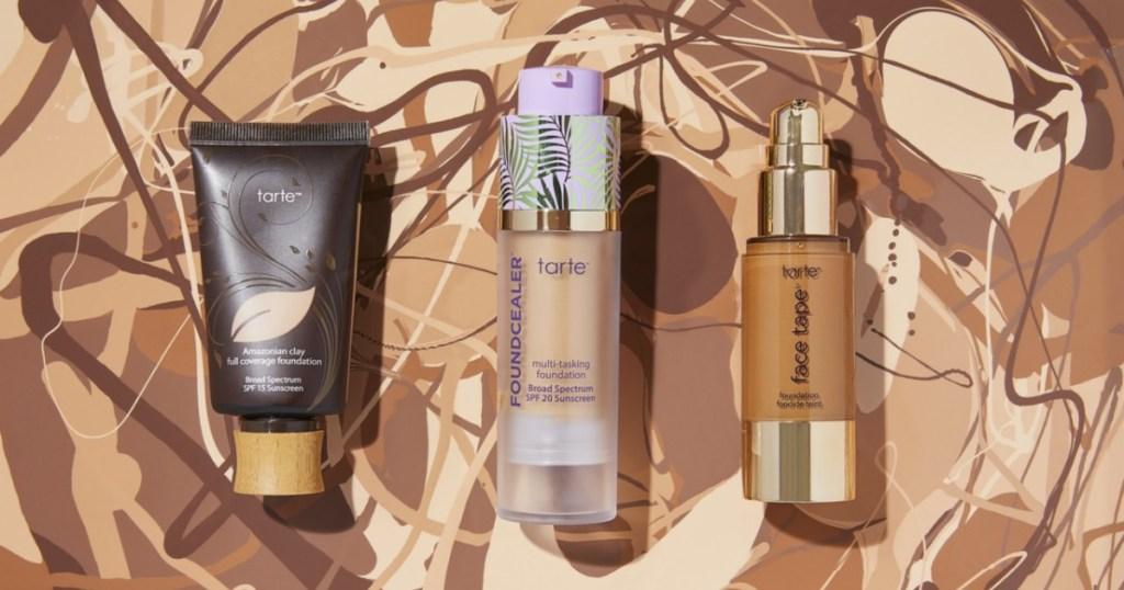 tarte cosmetics foundations