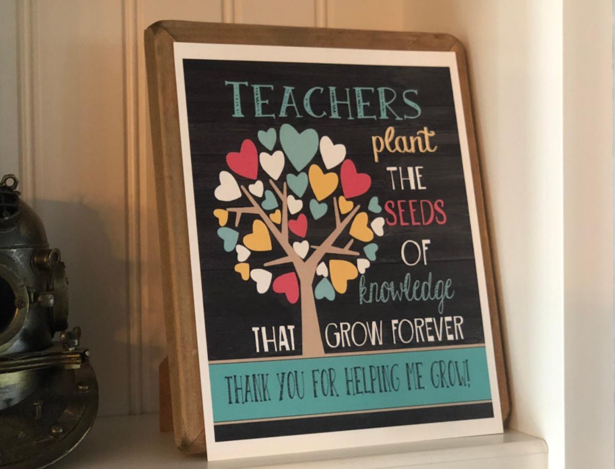 teacher appreciation quote