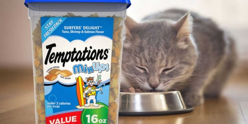 2 Temptations Cat Treat 16oz Containers Just $10.66 Shipped on Amazon | Only $5.33 Each
