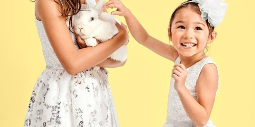 Up to 80% Off The Children's Place Easter Apparel + Free Shipping
