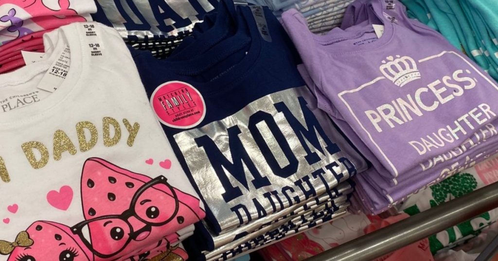 Children's Matching Kids and Adult T-shirts