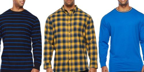 The Foundry Big & Tall Supply Co. Men's Shirts Just $5.39 at JCPenney (Regularly $40)