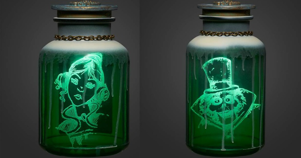 two The Haunted Mansion Jars