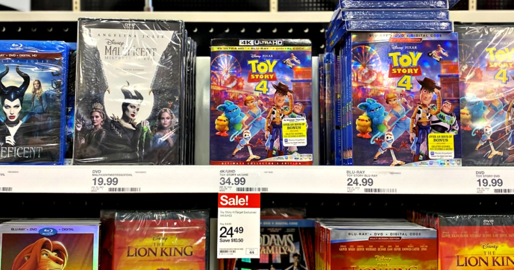 Toy Story 4 Target Exclusive 4K/UHD
