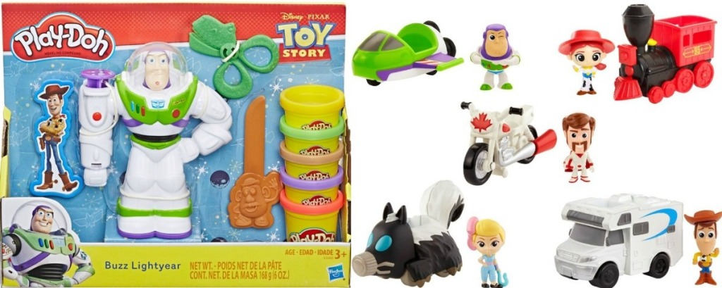 Toy Story Play-Doh and minifigures