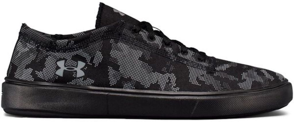 black, grey camo Under Armour Kids' Kickit 2 Low Shoes