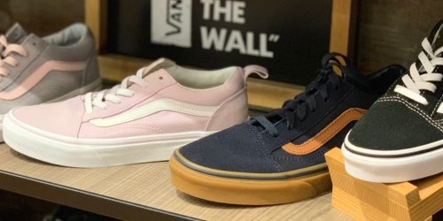 Vans Women's Skate Shoes Only $37.49 for Kohl's Cardholders (Regularly $60) | Free Curbside Pickup