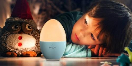 Kids Portable Nightlight Only $9.99 on Amazon