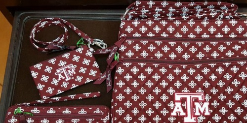 Vera Bradley Collegiate Zip ID & Lanyard as Low as $7 Shipped (Regularly $40)