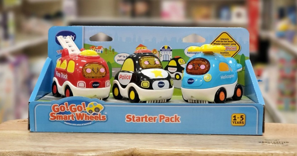 Vtech Go Go Cars at Target on a shelf