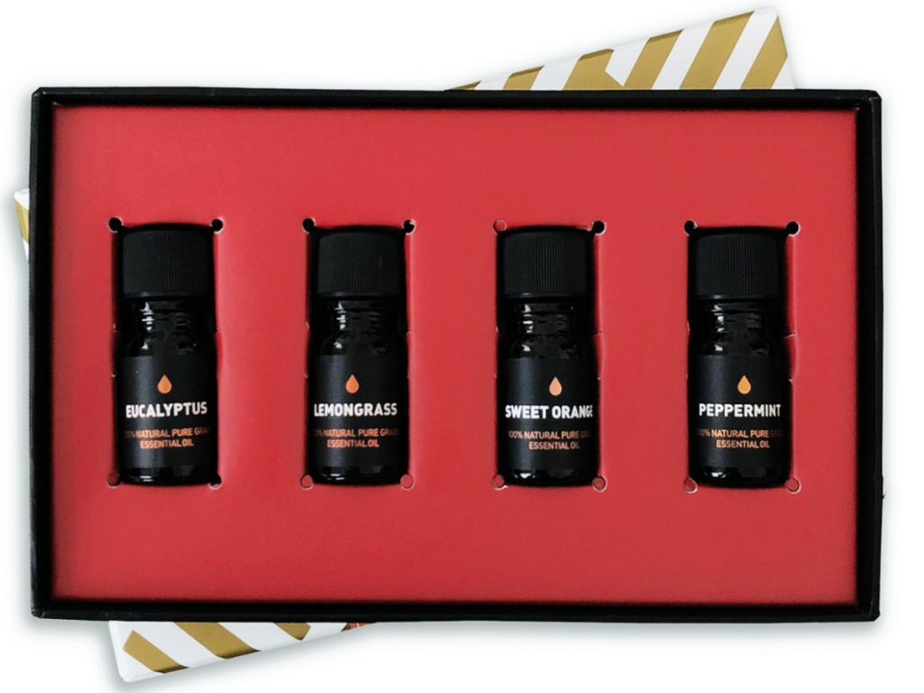 Way Of Will 4-Piece Elevate Essential Oil Gift Set