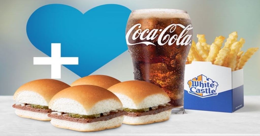 White Castle Combo Meal