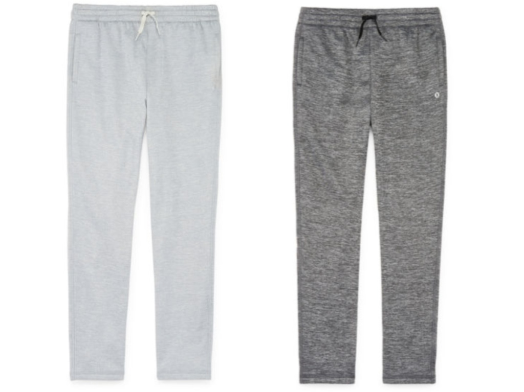 kids grey jogger pant and kids black jogger pant