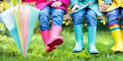 Kids Rain Boots Only $9.99 Shipped