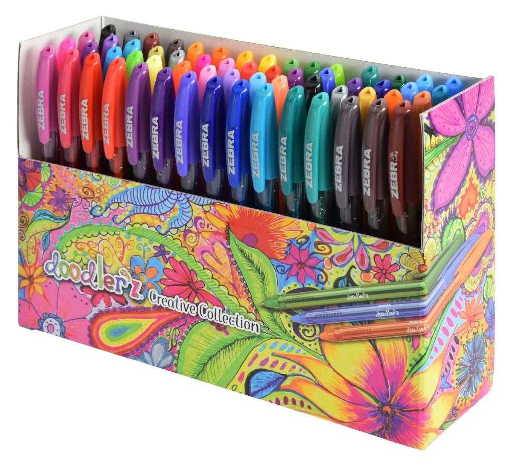 Zebra Pen Doodlerz 60 count