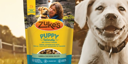 Zuke's Puppy Naturals Treats Only $2.23 Shipped on Amazon (Regularly $6)