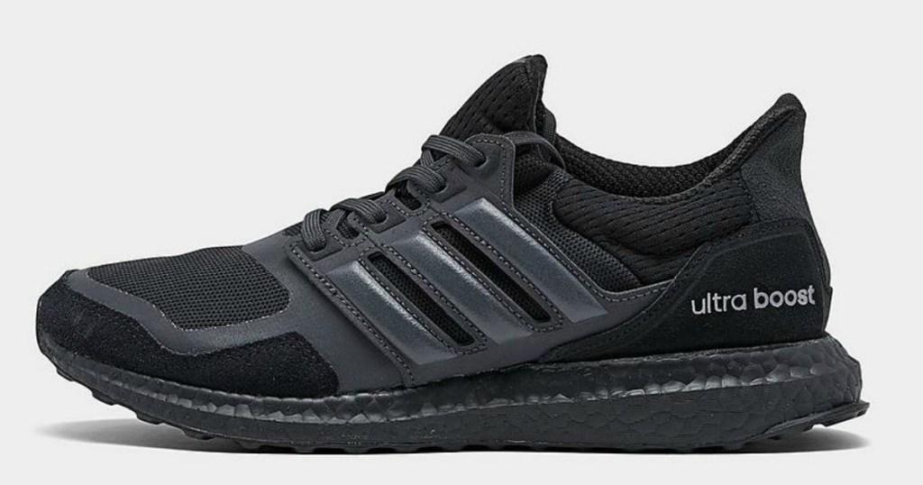 black adidas shoe