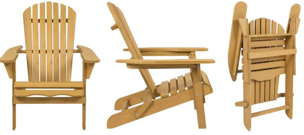 Adirondack Folding Wood Chair