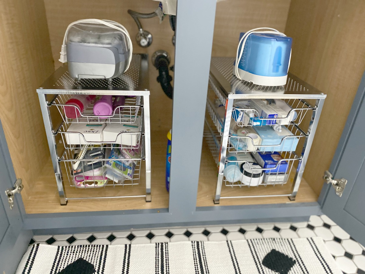 amazon under the sink organizers