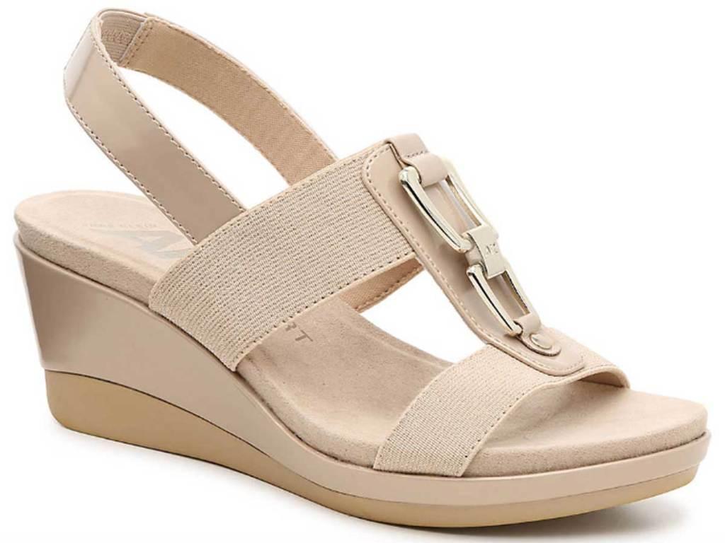 ann klein wedge sandal
