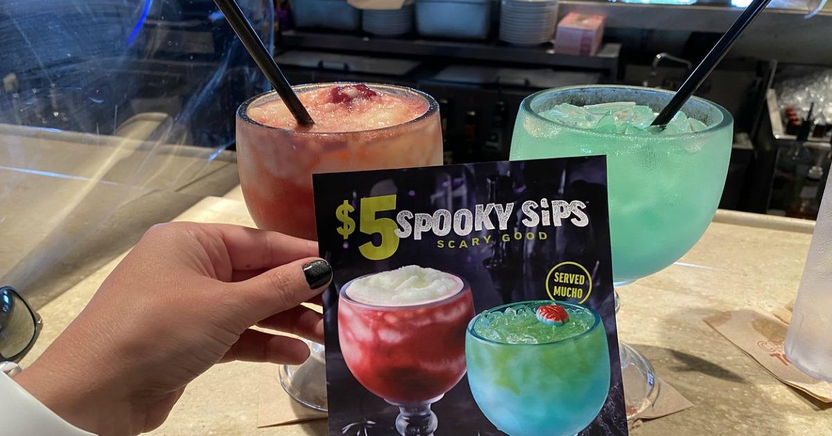 Halloween Restaurant Deals & Specials - Applebee's spooky sips