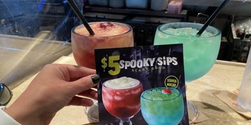 Applebee's Adult Beverage Spooky Sips Just $5 Each