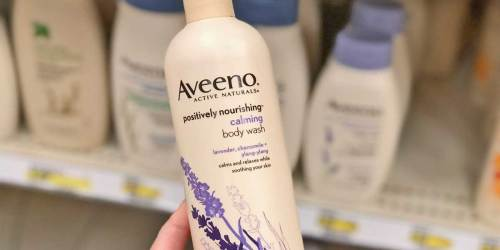 TWO Aveeno Calming Body Washes Only $8 Shipped on Amazon (Just $4 Each)