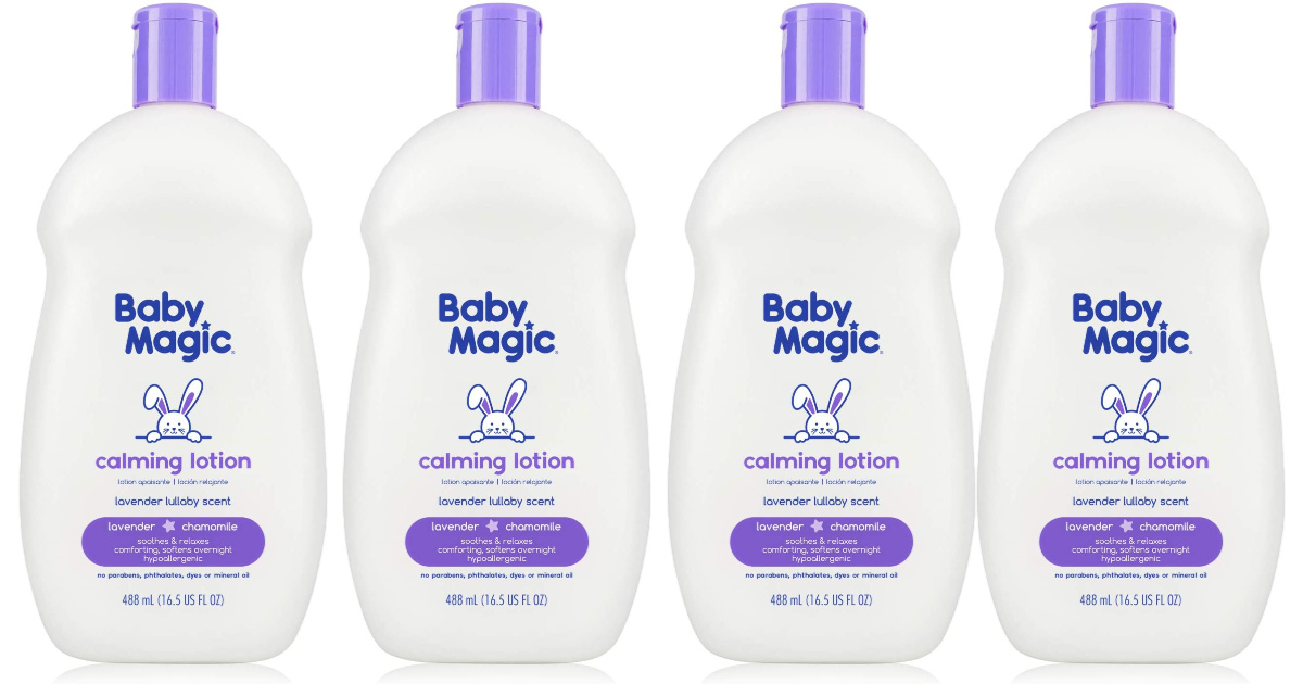 baby magic product display
