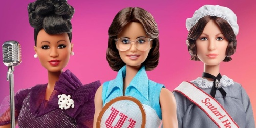 Meet Mattel's New Barbies – Ella Fitzgerald, Billie Jean King & Florence Nightingale