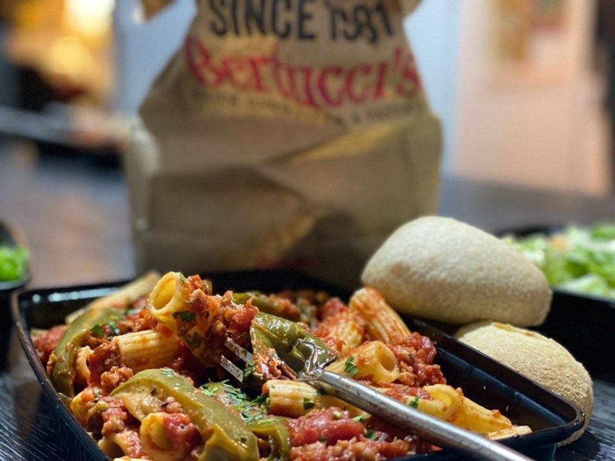 takeout from Bertucci's