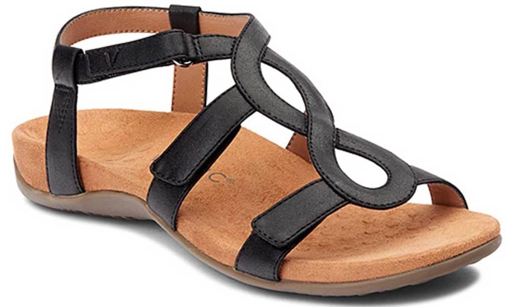 Vionic Women's Black Jodie Sandal