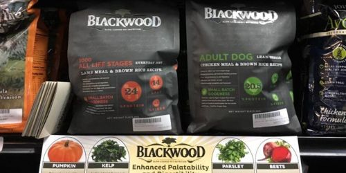 Blackwood Dog Food BIG 30-Pound Bags as Low as $17.76 Each Shipped on Chewy.com