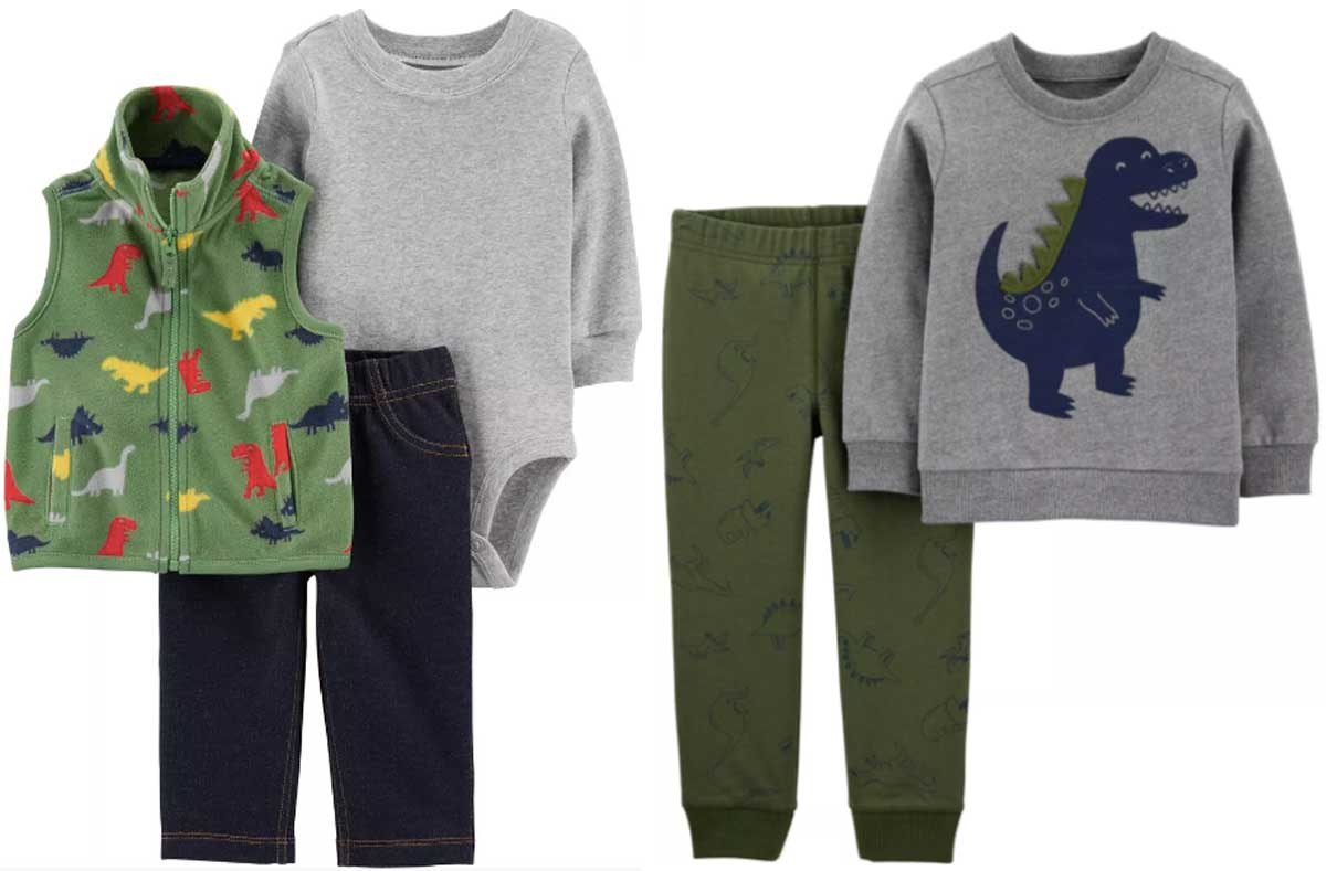 carters baby boy and toddler sets of clothing